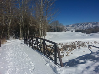 Aspen Cross-Country Skiing - Snowmass Bridge