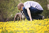 A Boy and His Dog (Jenny Onsager) Tags: pets yellow kids canon bostonterrier spring candid dandelions petlove aboyandhisdog mygearandme mygearandmepremium mygearandmebronze mygearandmesilver mygearandmegold mygearandmeplatinum mygearandmediamond jennyonsager {vision}:{outdoor}=093