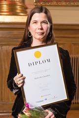 Anna Ström från Skolverket, nominerad till Web Service Award 2013 i klassen Intranät.