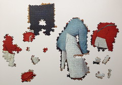 Brueghel: Village Wedding Feast - Progress #2 (Danijel Legin) Tags: puzzle jigsaw brueghel ravensburger