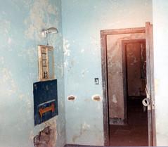 Medicine Cabinet (CityOfDave) Tags: nyc newyorkcity abandoned dorm urbanexploration dormitory rooseveltisland medicinecabinet abandonedbuilding welfareisland centralnursesresidence