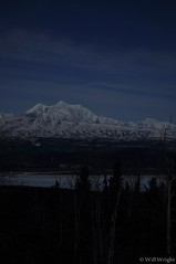 Eastern Alaska Range at night (3)