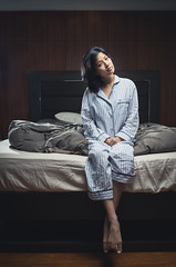 Sleepover (Julian VH) Tags: girl illustration fun bed bedroom nikon photoshoot teddybear manila winnie victoriasecret sleepover strobe pajama d600 strobist julianvh penelopepop