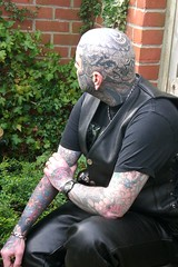 LH Sideburn - or rather Side-Bear (Bear & Rabbit (formerly BC&IKB)) Tags: leather tattoo tribal celtic moko knotwork bearhead facetattoo leatherbear beartattoo necktattoo scalptattoo headtattoo throattattoo facialtattoo bearshead tattooedneck blackngrey tattooedbear tattooedscalp chintattoo tattoobear suffolktattoo uktattoo tattooedchin tattooedthroat inkedinuk tattooedintheuk tattooedleatherbear tattooedleatherman