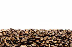Coffee Beans Logo (King Grecko) Tags: morning food brown white black hot cup closeup breakfast dark cafe energy break flavor drink background beverage seed bean fresh gourmet delicious crop mug espresso taste caffeine cappuccino aromatic vector isolated roasted aroma