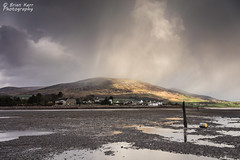 Here Comes The Rain (.Brian Kerr Photography.) Tags: snow rain clouds reflections landscape scotland availablelight criffel dumfriesandgalloway carsethorn a7r briankerrphotography sonya7r