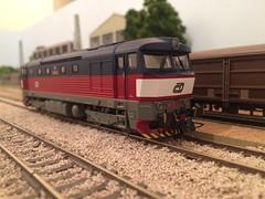Roco - CD 749121 (Neil Sutton Photography) Tags: modellbahn českédráhy bardotka modeltrain 749121 751 749 roco cd czech ho 187 modelspoor model railway train modeltog