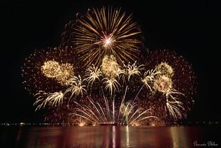 Fireworks in Manila