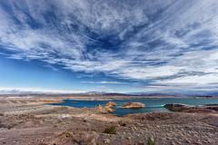 Lake Mead (marko.erman) Tags: lake mead lasvegas nevada arizona usa colorado largest water landscape cloudscape rocks red pov popular outside sony beautiful sun sunny travel nature panorama