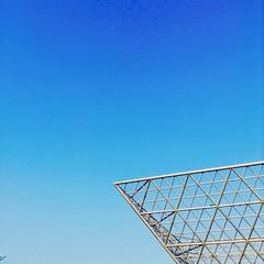 Waste of lovely day (samueldebritto) Tags: hdr bekasi sky summarecon blue skies vsco vscocam outdoor nature naturaleza architecture landmark ipad ipadmini