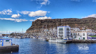 Harbor Puerto de Mogan, Gran Canaria, Spain - 4842