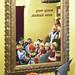 Gyerekek mesét hallgatnak a fővárosi I. kerületi Mesemúzeumban