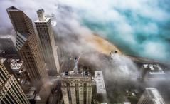 My Chicago Point of View (jnhPhoto) Tags: jnhphoto chicago chicagoskyline chicagocloudslakemichigancityscape lakemichigan lake lakeshoredrive fog architecture march 2017