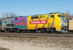 Via 904 Roster (Joseph Bishop) Tags: via 904 ge p42 canada150 trains train track tracks railfan railroad railway rail rails cndundassubdivision brantford