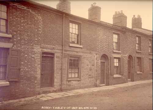 Perry's houses, 51-59 Tabley Street - 1891