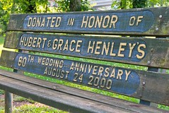 ~ Forever and Forever , Amen  .... (~ Cindy~) Tags: memorybench veterans park tennessee harriman 2017 hbm