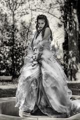 bride grayscale (GenePhotoPassion) Tags: woman bnw marriage wedding bride