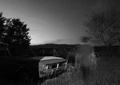 IMG_1424 (e08avenger) Tags: ghost black white photographs spooky fake horror haunted haunting staged motion blur