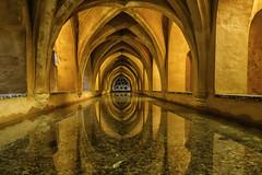 Alcazar baths (seth2252013) Tags: andalusia spain alcazar baths