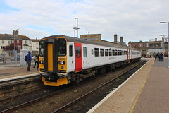 153309 (matty10120) Tags: class railway rail train abellio greater anglia direct service drs lowestoft 153