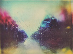 Crying Rainbows (BLACK EYED SUZY) Tags: surreal drive rain glitché mextures tadaa