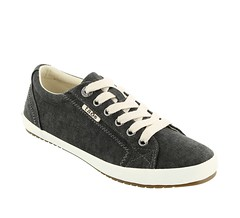 "Taos Star shoe charcoal washed canvas • <a style=""font-size:0.8em;"" href=""http://www.flickr.com/photos/65413117@N03/33290509652/"" target=""_blank"">View on Flickr</a>"