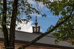 """Leipzig, Prager Straße, """"Blick auf das Türmchen des Grassimuseums"""" (joergpeterjunk) Tags: leipzig outdoor baum architekturgebäude turm grassimuseum canoneos7dmarkii tamron16300mmf3563diiivcpzdmacro"""