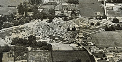 Ministry of Works photographs of Sunnyside Hospital, 1960s (Archives New Zealand) Tags: archivesnewzealand archives archivesnz sunnyside sunnysidehospital christchurch 1960schristchurch lincolnrdchristchurch aerialphotograph watertower benjaminmountfort victoriangothic