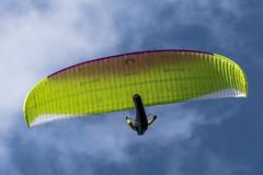 Flying over the Gaisberg (mtollich) Tags: gais gaisberg paragleiter paraglider april salzburg sport pentax k3