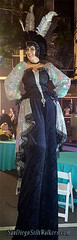 San Diego Stilt Walker (SDSpotlightEnt) Tags: stilt walker walking walkers led tall spotlight entertainment party event light up glowing mardi gras gaslamp los angeles san diego palm springs desert hollywood