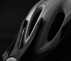 Bicycle helmet (f8shutterbug) Tags: idb 21 117in2017 bicycleday closeup monochrome abstract helmet