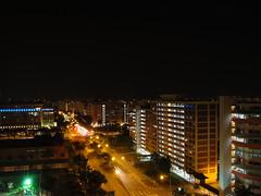 Day 189: Across Gangsa ((YH)) Tags: tan yew hui yh singapore night gangs road bukit panjang building hdb home houses