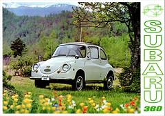 1969 Subaru 360 (aldenjewell) Tags: 1969 subaru 360 brochure