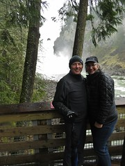 Ed and Katherine March 2017 (LANE5530) Tags: ed katherine snoqualmiefalls snoqualmieriver hiking