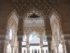 Court of the Lions - Alhambra (Rckr88) Tags: court lions alhambra europe granada spain palace palaces alhambrapalace andalusia courtofthelions islamic architecture ancient relics relic column columns arch arches travel