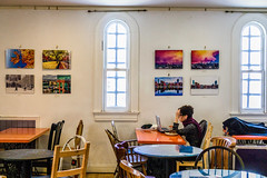 My Photos In The Armory Cafe ((Jessica)) Tags: armory artsatthearmory somerville boston newengland massachusetts