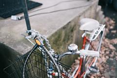 Details (borishots) Tags: bicycle bike ride bikehandlebars handlebars fujifilmxe2 fujinon23mmf14 f14 wideopen wideangle fujinon fuji fujifilm bokeh bokehlicious bokehwhore leafs oslo norway scandinavia wallpaper perspective analog retro vintage
