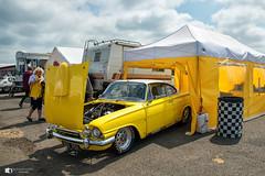 Ford Consul Capri (technodean2000) Tags: ford consul capri glenn pallant santa pod race way uk nikon d610 lightroom car