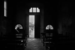 Santa Maria in Binda, Nosate (Va) (Massimo Caccia) Tags: bw bnw biancoenero monocromo blackandwhite bianconero monochrome chiesa luce ombra