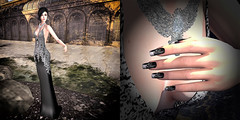 LuceMia - Aris Aris & DaneMarkZ & PosESioN (MISS V♛ ITALY 2015 ♛ 4th runner up MVW 2015) Tags: arisaris danemarkz posesion fashion mesh nails poses models sl new creations event thedarknessmonthlyevent lucemia
