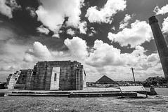 DSC00544 (Damir Govorcin Photography) Tags: isolation cells convicts australian history cockatoo island sydney architecture sky clouds blackwhite monochrome natural light sony a7rii zeiss 1635mm wide angle