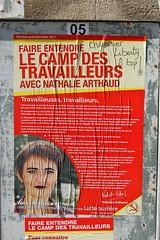 Arthaud (pierre-alain dorange) Tags: élections présidentielles 2017 affiches affiche
