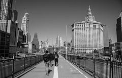 Back on the Brooklyn Bridge. (The city guy ☺) Tags: newyork walking walkingaround walkinginthecity monochrome brooklynbridge outdoors architecture urban urbanexploration