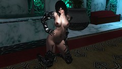 Velvet :3 (RockLeonhart) Tags: skyrim nude naked nipples pose pussy oppai sevenbase skin sexygirl boobs body enb sexy