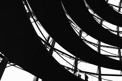 ...spirals... (*ines_maria) Tags: panasonic dmcgx8 monochrome mono bw blackandwhite couple person indoor urban urbanart city exploration2 architecture kuppel