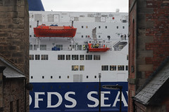 Passing by (kate&drew) Tags: 2017 february tyne northshields passengerferry dfds kingseaways lifeboat tyneandwear england dxo filmpack