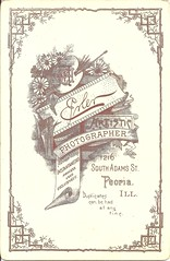 Lovely Victorian Peorian (ilgunmkr - Mourning The Loss Of My Wife Of 52 Year) Tags: cabinetcard victorianlady victorian peoriaillinois centralillinois 1890s erlerphotographer maxerler sunbeamgallery 19thcentury illinoisphotographers enjoyillinois