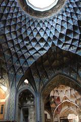 Old Bazaar (Wild Chroma) Tags: old bazaar oldbazaar kashan iran persia ceiling