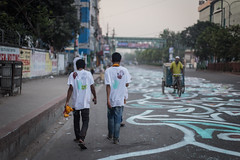 Returning Home !!! (zayembin.tajdid) Tags: return home dhaka dhanmondi bangladesh bangladeshi beautiful morning rise sun students daffodilinternationaluniversity tired alpona festival festive celebration new year bangla 2017 street photo photography