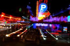 Midway Madness (christineliphoto) Tags: street niagarafalls light city night longexposure abstract